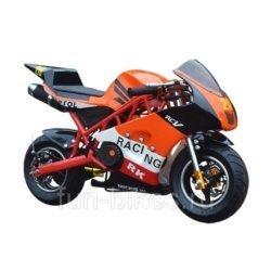 Минимото MOTAX 50 сс в стиле Ducati оранжевый (бензиновый, до 90 кг, до 45 км/ч, вариатор,  тормоза дисковые мех, ручной стартер)