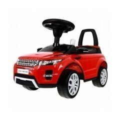 Толокар каталка Range Rover Evoque CLB348B красный (музыка, гудок, бардачок)